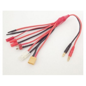 Cable de charge multiprises