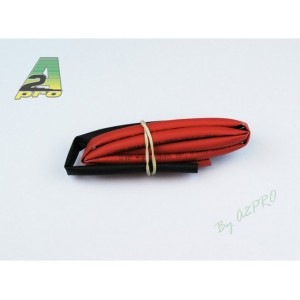 Tube thermo 5mm rouge+noir (2x50cm)