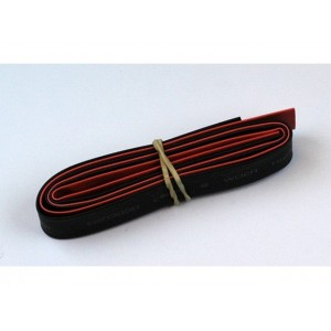 Tube Thermo 8mm Rouge+Noir (2x50cm)
