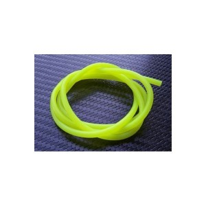 durite silicone 2x5mm jaune