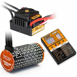 Combo Brushless ESC 150A + moteur 2000KV + Carte
