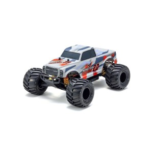 MONSTER TRACKER 2.0 1:10 RC EP READYSET (T2 ROUGE - KT232P)