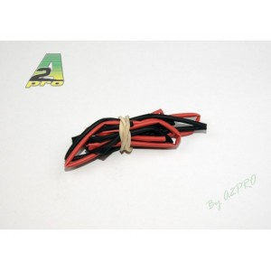 Tube thermo 1,5mm rouge+noir (2 x 50cm)