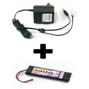 Pack 7.2V/1800mAh+chargeur T1257